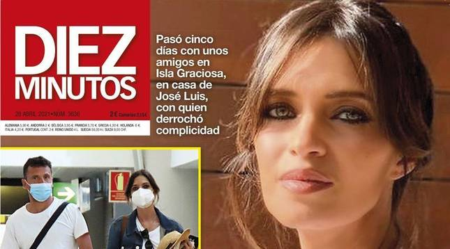 Portada de la revista Diez Minutos con la exclusiva de Sara Carbonero junto a su posible nuevo amor