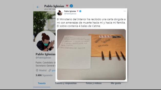 Amenazan de muerte a Marlaska, a Iglesias y a la directora de la Guardia Civil