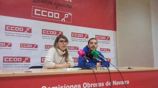 Pilar García,  secretaria general de Federación de Enseñanza de CC OO.