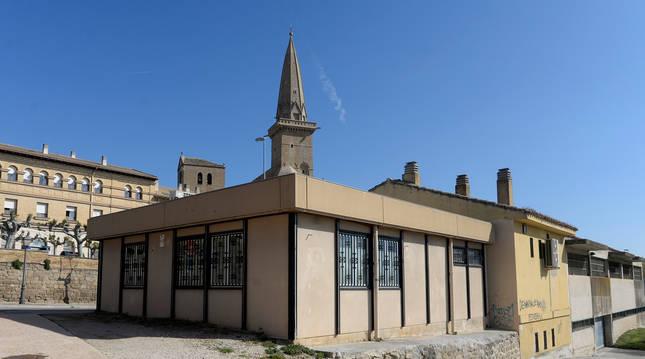 Foto de la sede provisional se ha estado utilizando veinte años.