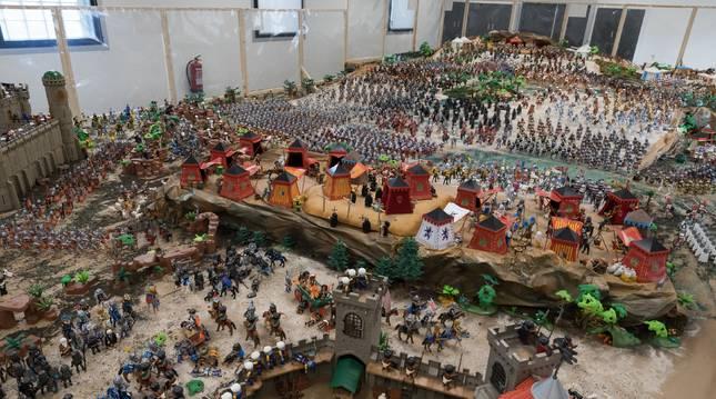 Las visitas a la exposición de playmobil de Tudela serán con reserva previa