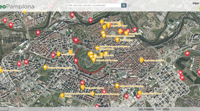Tracasa Instrumental actualiza el SIG del Ayuntamiento de Pamplona