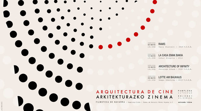Ciclo 'Arquitectura de cine', en la Filmoteca de Navarra.