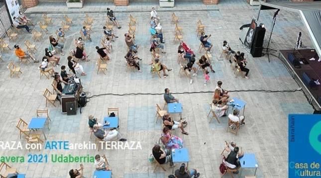 Tres citas musicales componen la propuesta de 'Terraza con Arte'