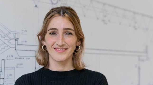 Foto de la investigadora María Elena Aparicio.