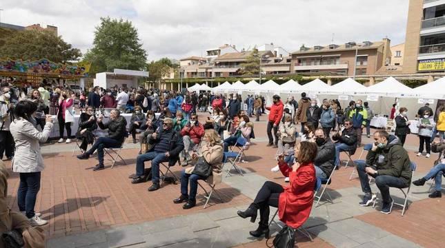 Fotos de la Feria de la Gastronomía en Tudela