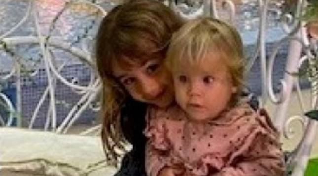 Anna, de un año, y Olivia, de seis años, desaparecidas desde el martes 27 de abril en la isla de Tenerife junto a su padre, Tomás Gimeno, de 37 años.