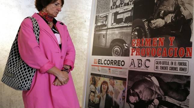 Civivox Condestable abrió este lunes, 3 de mayo,  la muestra sobre las seis décadas de terrorismo en España.