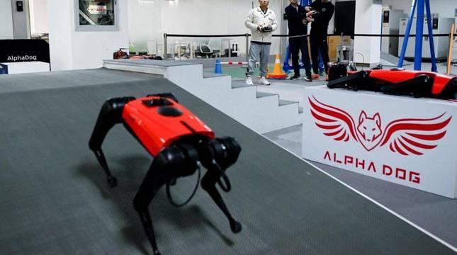 El perro robot AlphaDog.