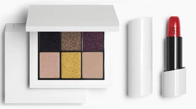 Imagen de parte de la nueva línea de cosmética de la firma de Zara.