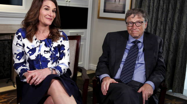 Bill y Melinda Gates, en una imagen de 2016.