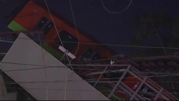 Al menos 23 fallecidos y más de 70 heridos en el desplome de un puente por el que pasa el metro en Ciudad de México