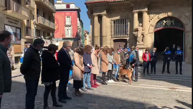 Presentación de la Unidad Canina de la Policía Municipal de Pamplona