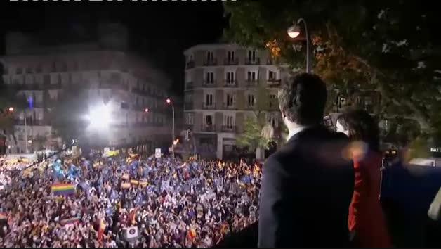 Ayuso vence con claridad en las elecciones de la Comunidad de Madrid