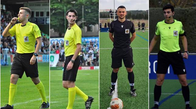 Gaizka Legarra, Alberto Labiano, Alejandro Morilla y David Casabona son los aspirantes al ascenso.
