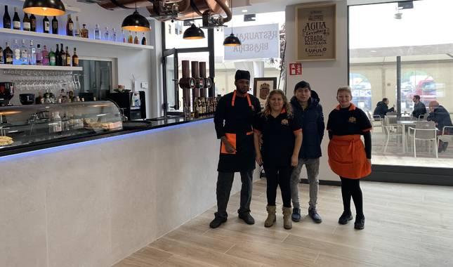 Nuevo restaurante brasería en Ansoáin