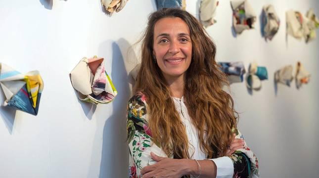 Exposición de Carla Querejeta en La Puerta Gótica del Colegio Mayor Belagua