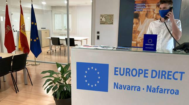Navarra abre una ventanilla de atención ciudadana sobre asuntos europeos
