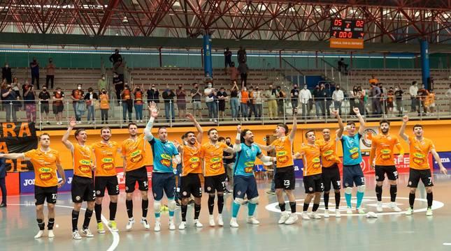 Fotos de la victoria del Aspil-Jumpers Ribera Navarra ante el Zaragoza