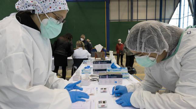 Cribado con test de antígenos a finales de abril en Fitero.