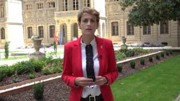 Mensaje de la Presidenta Maria Chivite en la celebración del Dia de Europa