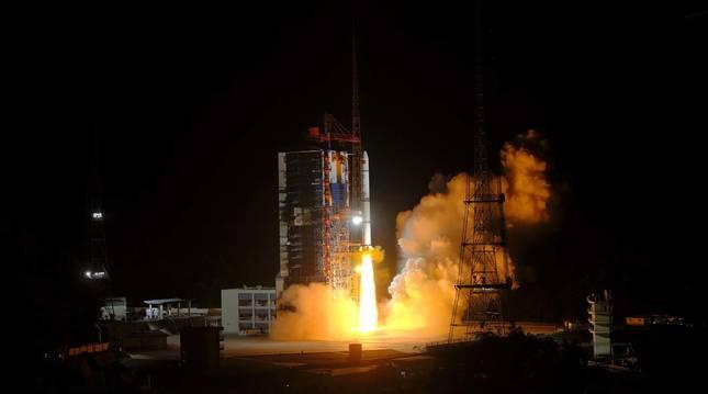 Cohete chino Larga Marcha 5B