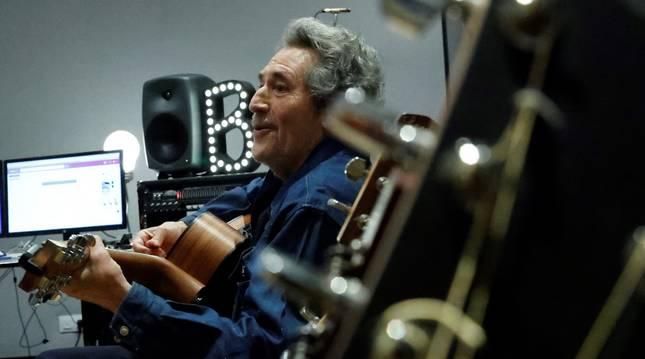 El músico Miguel Ríos.