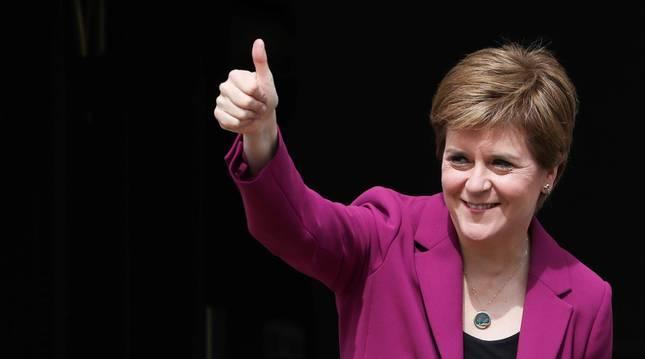 Nicola Sturgeon, ministra principal escocesa.