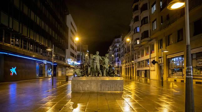 Este martes, Navarra vivirá la primera noche sin toque de queda desde el 25 de octubre