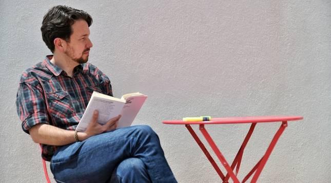 Pablo Iglesias, sin coleta.