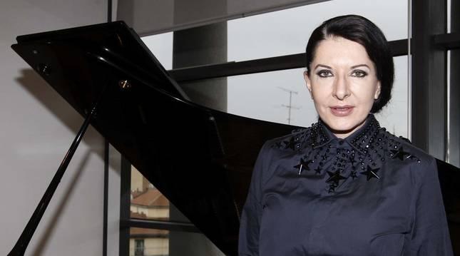 Marina Abramovic, en una fotografía de archivo.