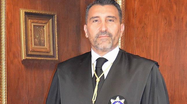 El presidente del TSJN, Francisco Javier Pueyo.