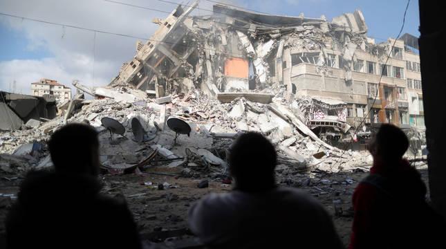 Israel intercepta el 90 % de los 1.600 cohetes lanzados desde Gaza