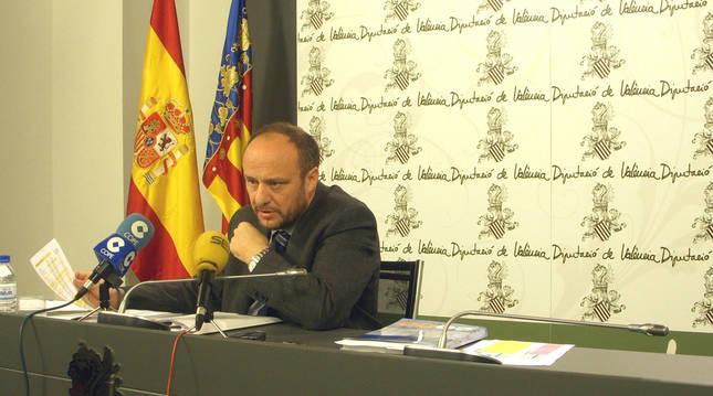 Rafael Rubio, subdelegado del Gobierno en la Comunitat Valenciana, en una fotografía de archivo.
