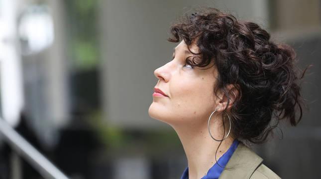 Sabina Urraca, que en 2019 participó en la primera edición de Letraheridas, este jueves 13 de mayo en Pamplona-