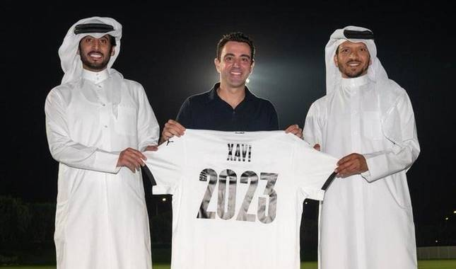 Xavi Hernández renueva dos temporadas con el Al Sadd