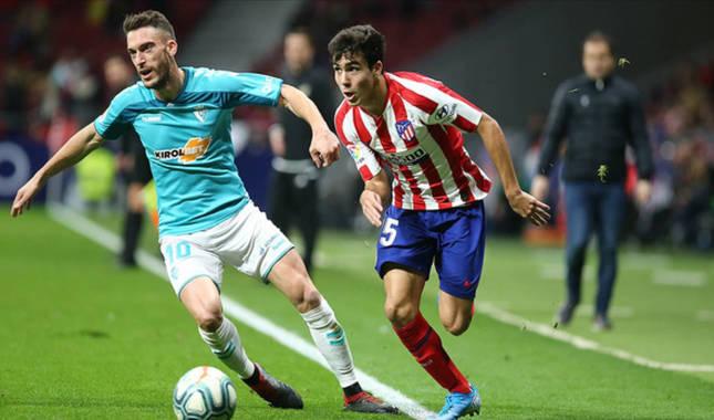 Simeone hizo debutar a Manu Sánchez ante Osasuna. Disputó 63 minutos en el triunfo por 2-0.