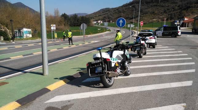 Campaña de tráfico en Navarra para reducir la siniestralidad de motocicletas