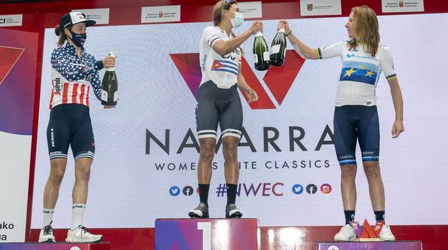 Fotos de la segunda prueba de la III Navarra Women's Elite Classics