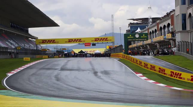 Parrilla de salida del GP de Fórmula 1 de Turquía 2020 disputado el mes de mayo del pasado año.
