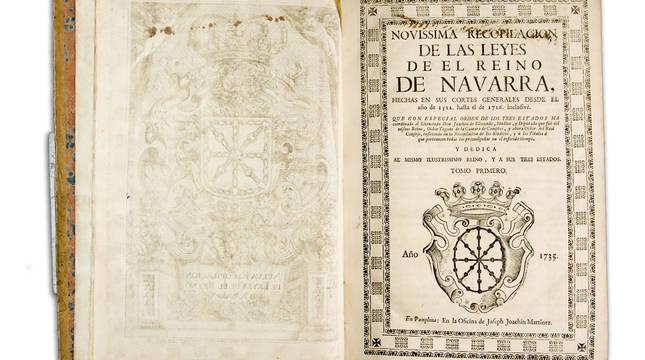 'Novísima recopilación' realizada por Joaquín de Elizondo.