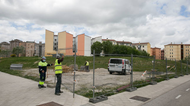 Comienzan las obras del aparcamiento de Milagrosa-Arrosadía con 234 plazas