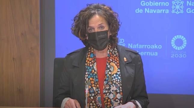 Itziar Gómez, consejera de Desarrollo Rural y Medio Ambiente del Gobierno de Navarra.