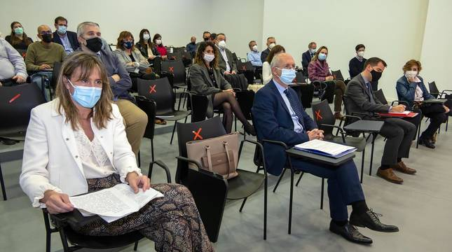 Fotos de evento de presentación del nuevo DN Management en Estella