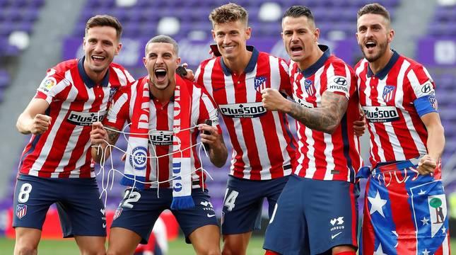 El Atlético se corona campeón de Liga y Huesca y Valladolid descienden    Noticias de Fútbol en Diario de Navarra