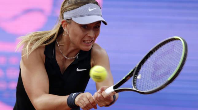 La tenista española Paula Badosa.