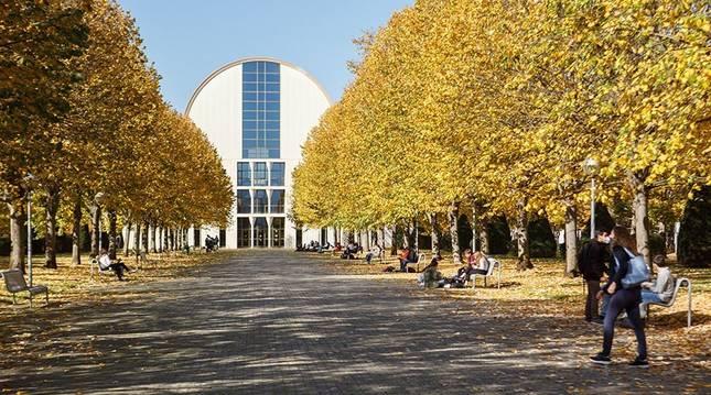Campus de la UPNA, en una fotografía de archivo.