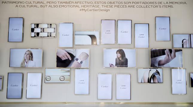 Exposición Cartier Pavilion of Design, donde se reúnen creaciones emblemáticas de la marca.
