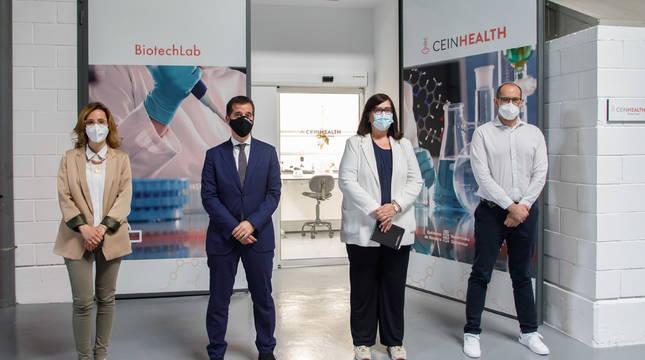 Inauguración del laboratorio CEINHealth Biotechlab