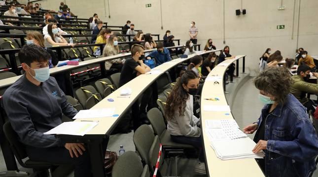 EvAU 2021 en la Universidad Pública de Navarra (UPNA)